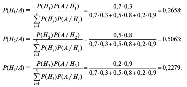 Примеры решения задач на по формуле байеса решение задачи о независимом множестве