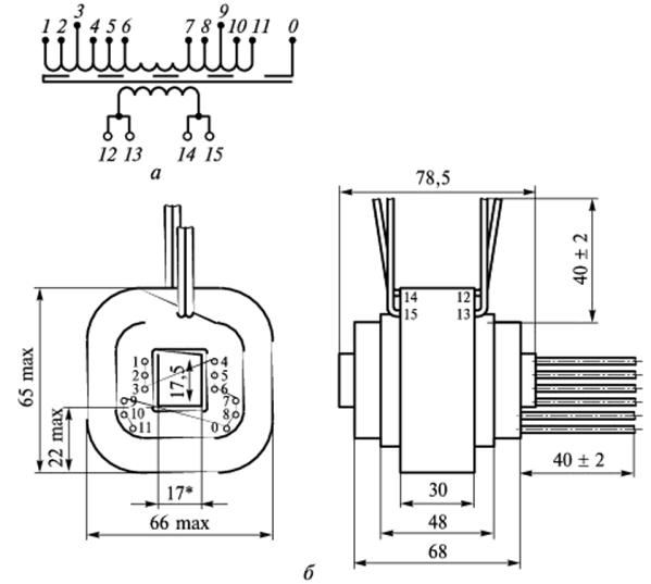 конструкции трансформаторов дросселей и других узлов