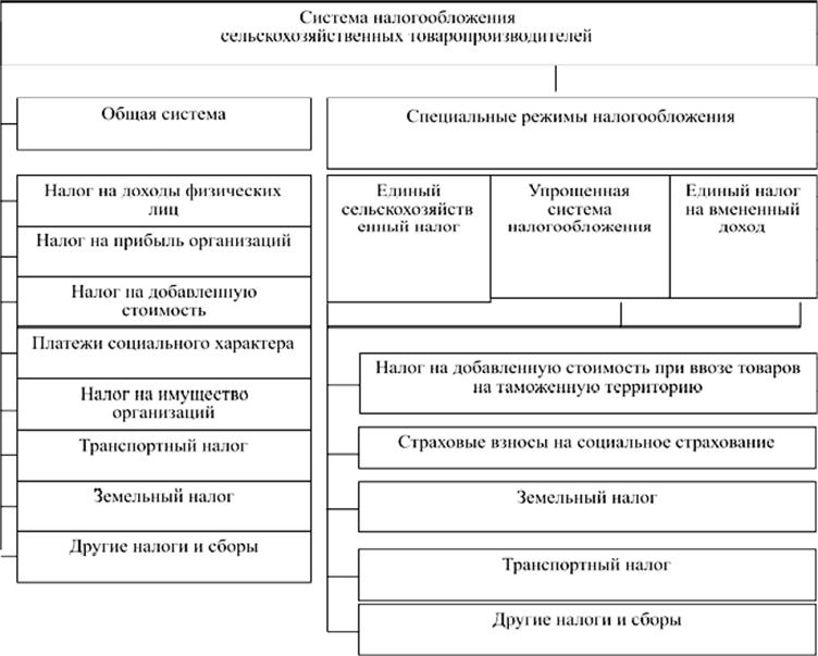 Бухгалтерский учет в сельском хозяйсттве при общем налогообложении