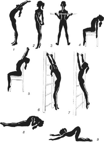 Кифоз упражнения с картинками